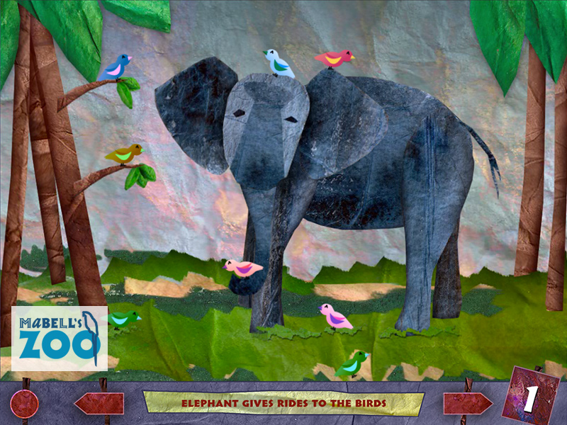 Mabell's Zoo - One Elephant
