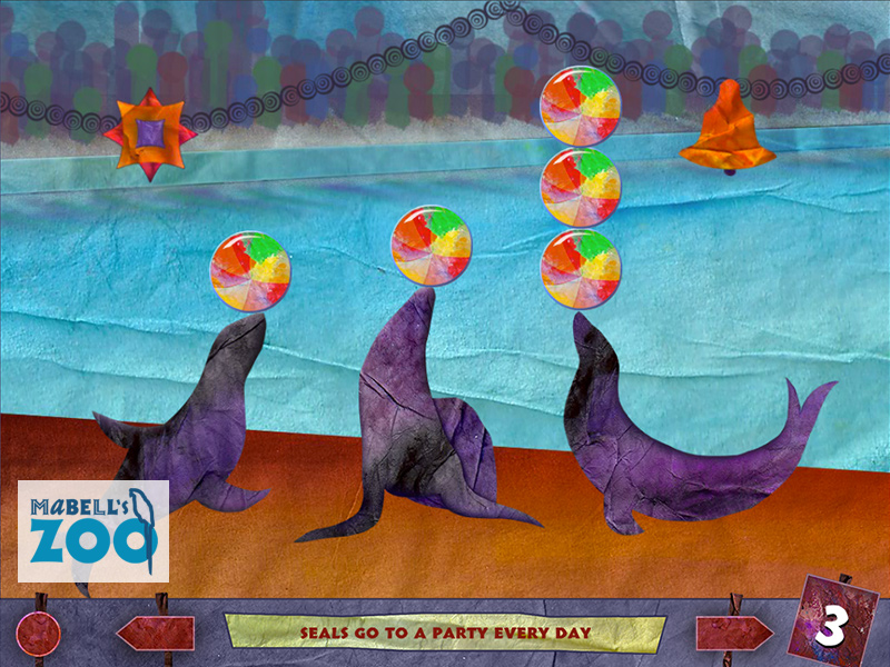 Mabell's Zoo - Three Seals