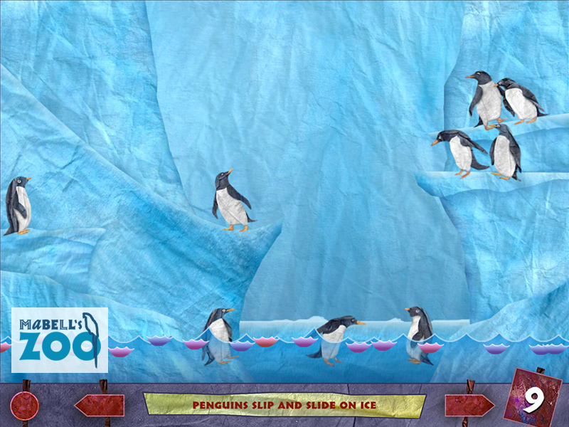 Mabell's Zoo - Nine Penguins
