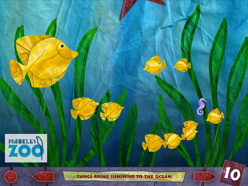 Mabell's Zoo - Ten Fish